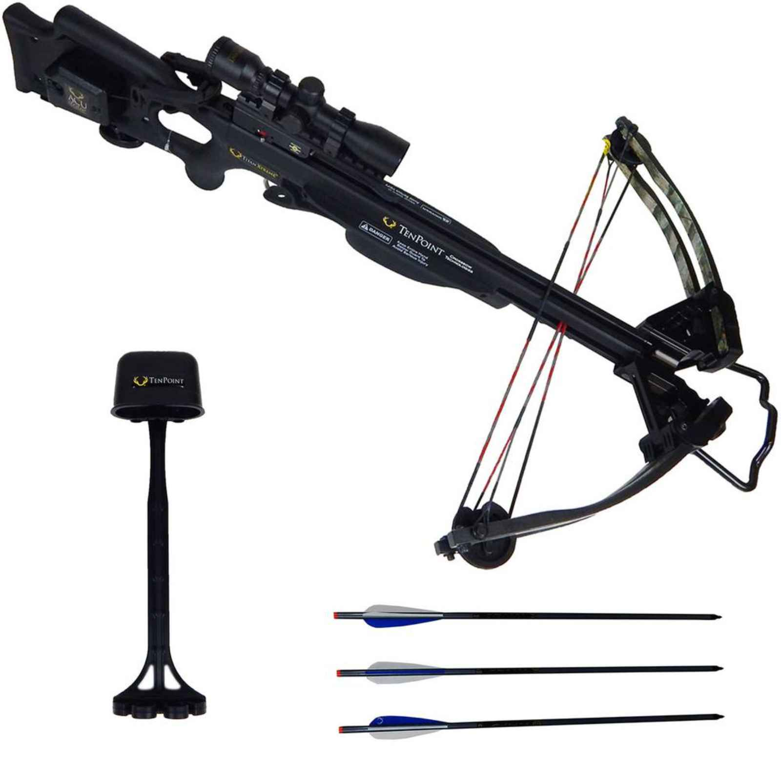 Tenpoint Titan Xtreme Crossbow Scope Package AcuDraw Blac...