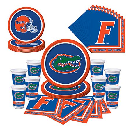 Graduation Plates And Napkins (Florida Gators Party Bundle - Plates, Cups,)
