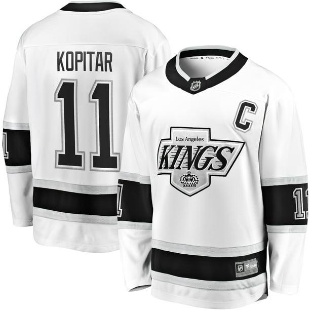 Anze Kopitar Los Angeles Kings Fanatics Branded Heritage Premier Breakaway Player Jersey - White