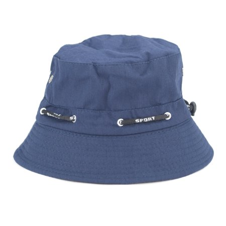 Opromo Blank Adjustable Cotton Twill Bucket Hat Outdoor Summer Fishing Hat-Royal - 47 Brand Blank Hats