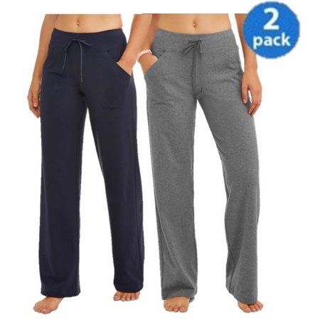 Athletic Works Relaxed Fit Pant in Regular and Petite 2-Pack Bundle