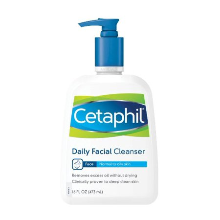 Triple Care Cleanser - Cetaphil Normal to Oily Skin Daily Facial Cleanser, 16.0 FL OZ