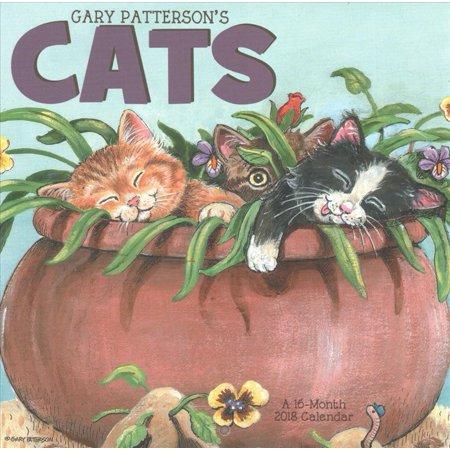 Gary Pattersons Cats 2018 Calendar