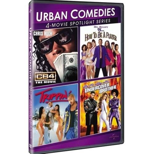 Urban Comedies 4-Movie Spotlight Collection: How To Be A Player / Trippin' / CB4 / Undercover Brother
