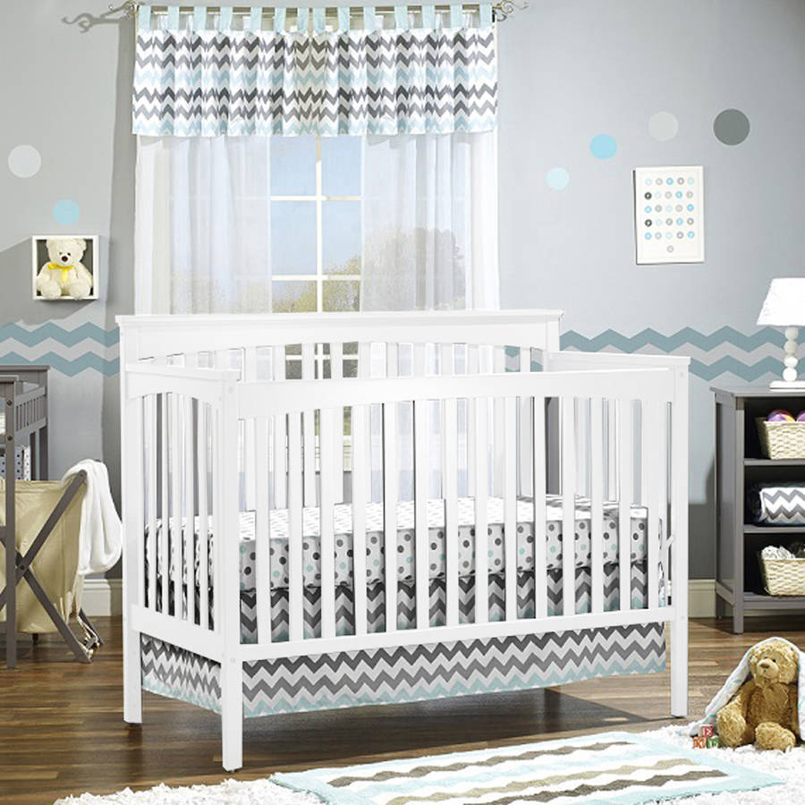 Sorelle Petite Paradise Elite 4-in-1 Crib, Changing Table and Organizer/Storage Unit, Choose Your Finish