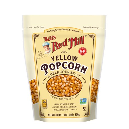 Bob's Red Mill Whole Yellow Popcorn, 30-ounce - Red Popcorn