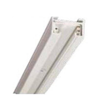 One Circuit 4 Track (4 ft. Single Circuit Track - White )