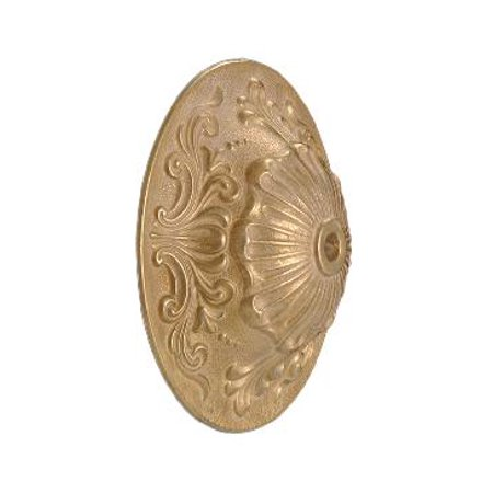 """B&P Lamp® 5 1/2"""" Dia., Die Cast Brass Back Plate, Polished & Lacq."""