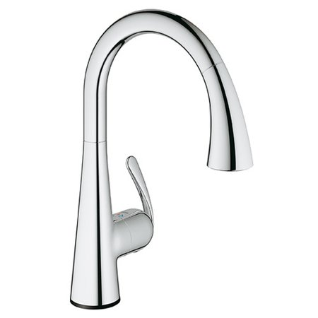 Grohe 30205000 LadyLux3 Cafe Touch Pull Down Kitchen Faucet with Touch Technology, Available in Various (Best Grohe Kitchen Faucets)