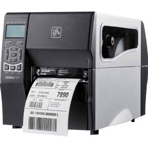 Zebra Zt230 Direct Thermal Thermal Transfer Printer   Monochrome   Desktop   Label Print   4 09  Print Width   6 In S Mo