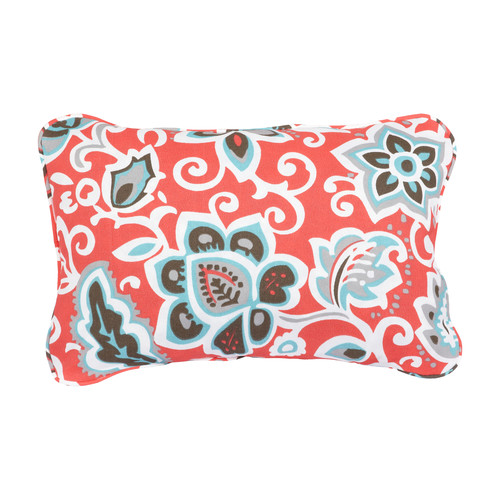 Mozaic Company Stella Floral Indoor/Outdoor Lumbar Pillow (Set of 2)