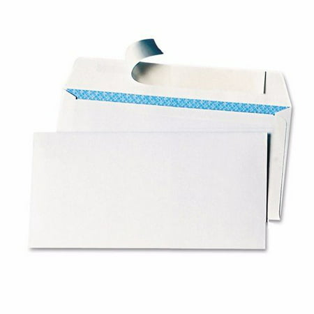 Wideskall® White Security #6-3/4 Regular Self-Seal Letter Mailing Shipping Envelopes, 3-5/8 x 6-1/2 inch, Pack of - Security Mailing Envelopes