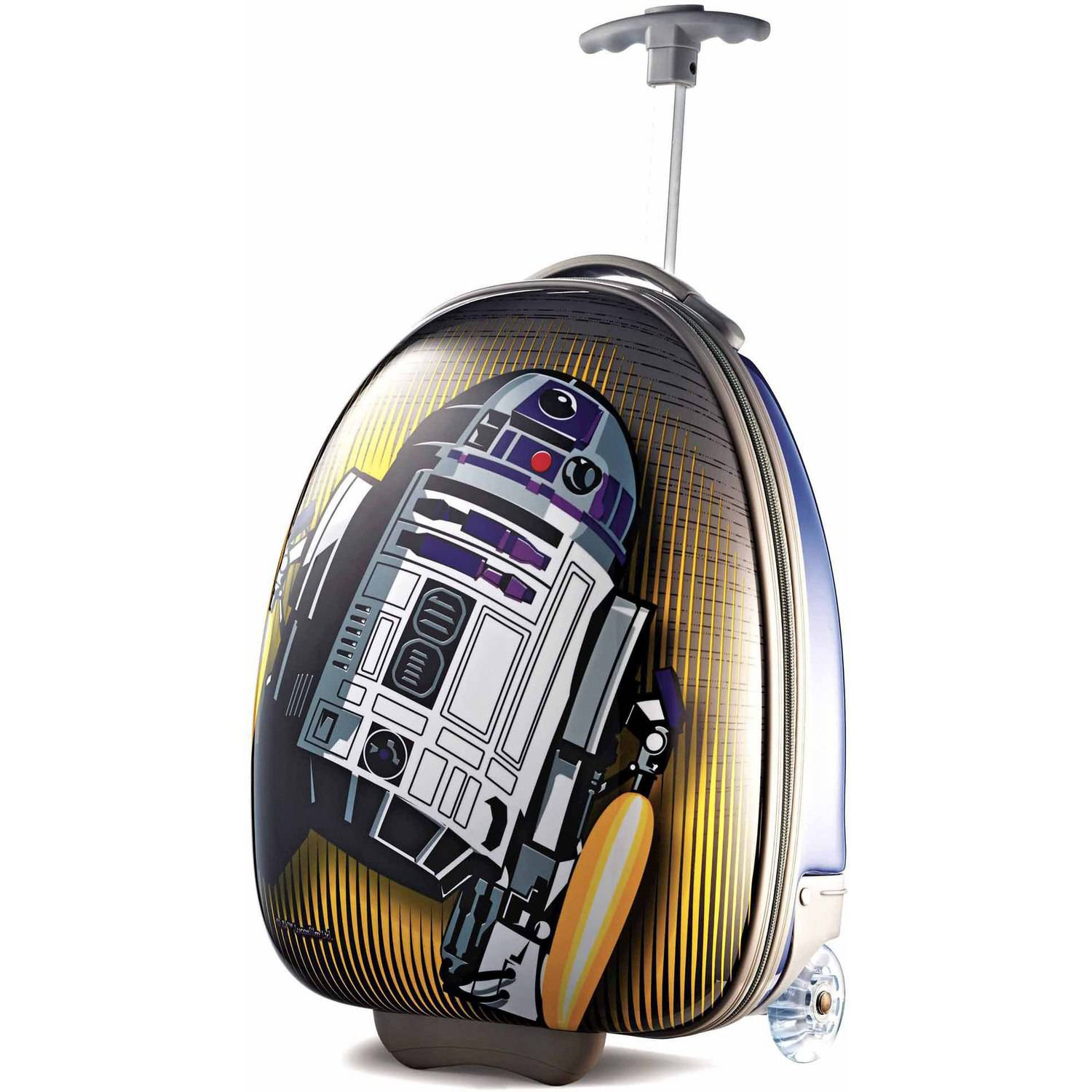 "American Tourister Disney Star Wars R2D2 18"" Upright Hard Side Suitcase"