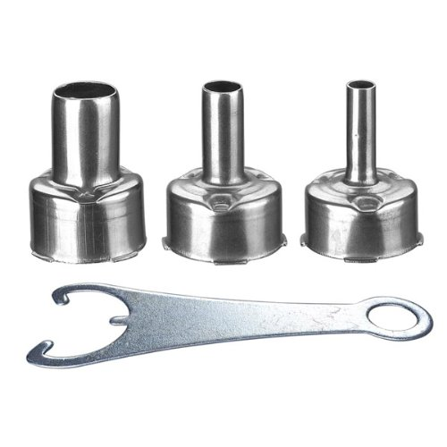 Hot Air Nozzle Replacements For Soldering Station - 3 Piece - 5mm, 7mm, 10mm