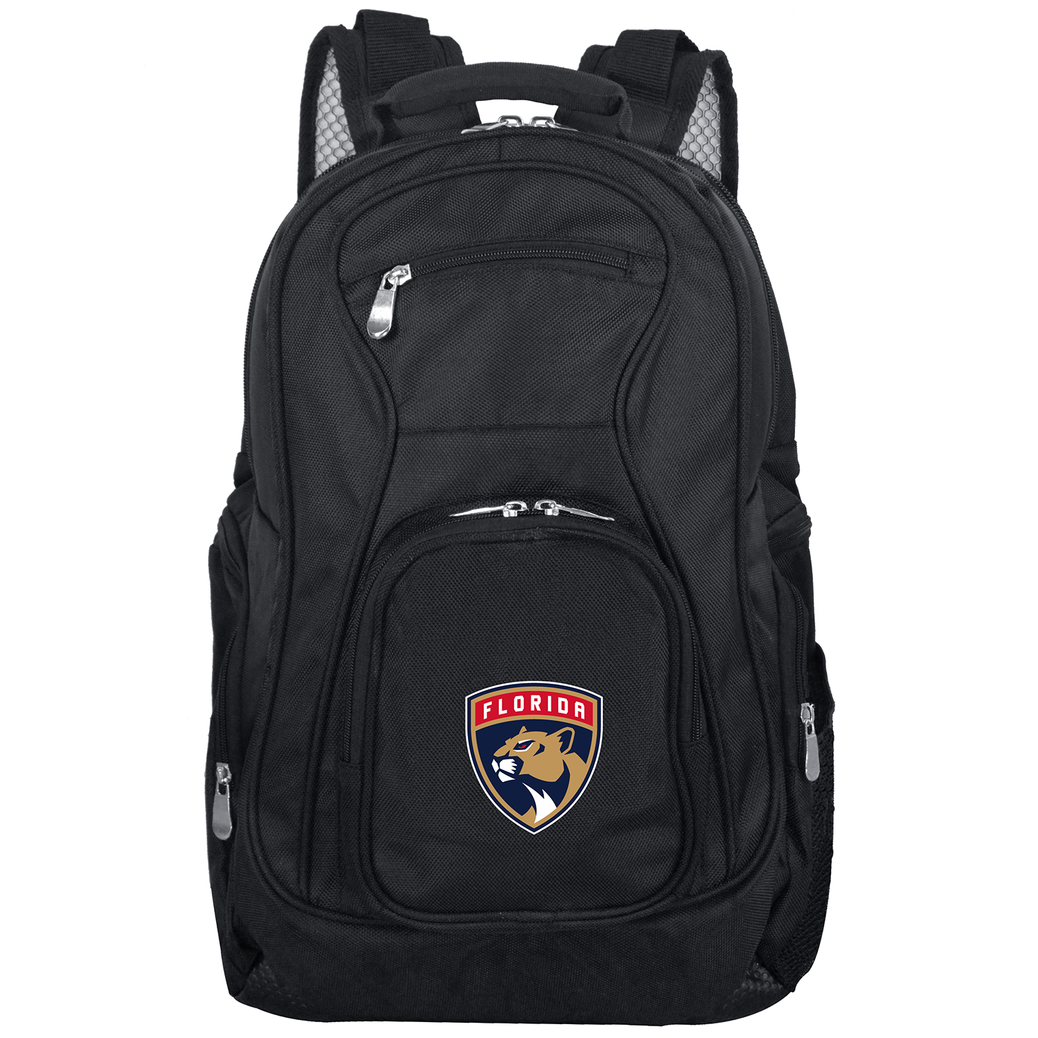 "Florida Panthers 19"" Laptop Travel Backpack - Black - No Size"