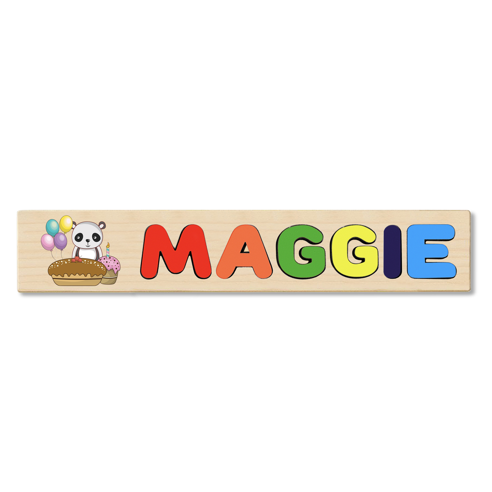 Match up Letters Spell Name Personalised Name Mat