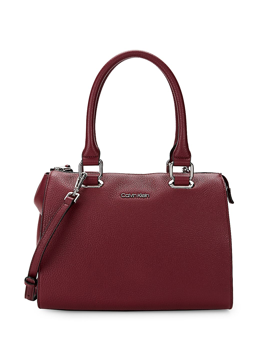 Halle Leather Satchel