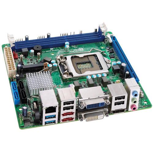 Intel Desktop Board DQ67EP - Executive Series - motherboard - mini ITX - LGA1155 Socket - Q67 - USB 3.0 - Gigabit LAN - onboard graphics (CPU required) - HD Audio (8-channel)