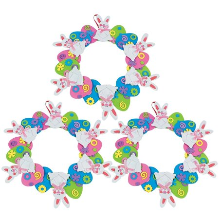 DIY Kit Set of 3 Easter Egg Wreaths - Diy Advent Wreath