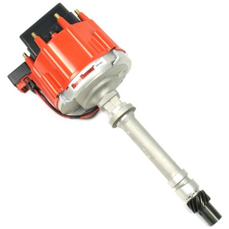 Modify Chevrolet Small Block (PerTronix D1071 Flame-Thrower Red Cap Race Distributor HEI Chevrolet for Small Block/Big)