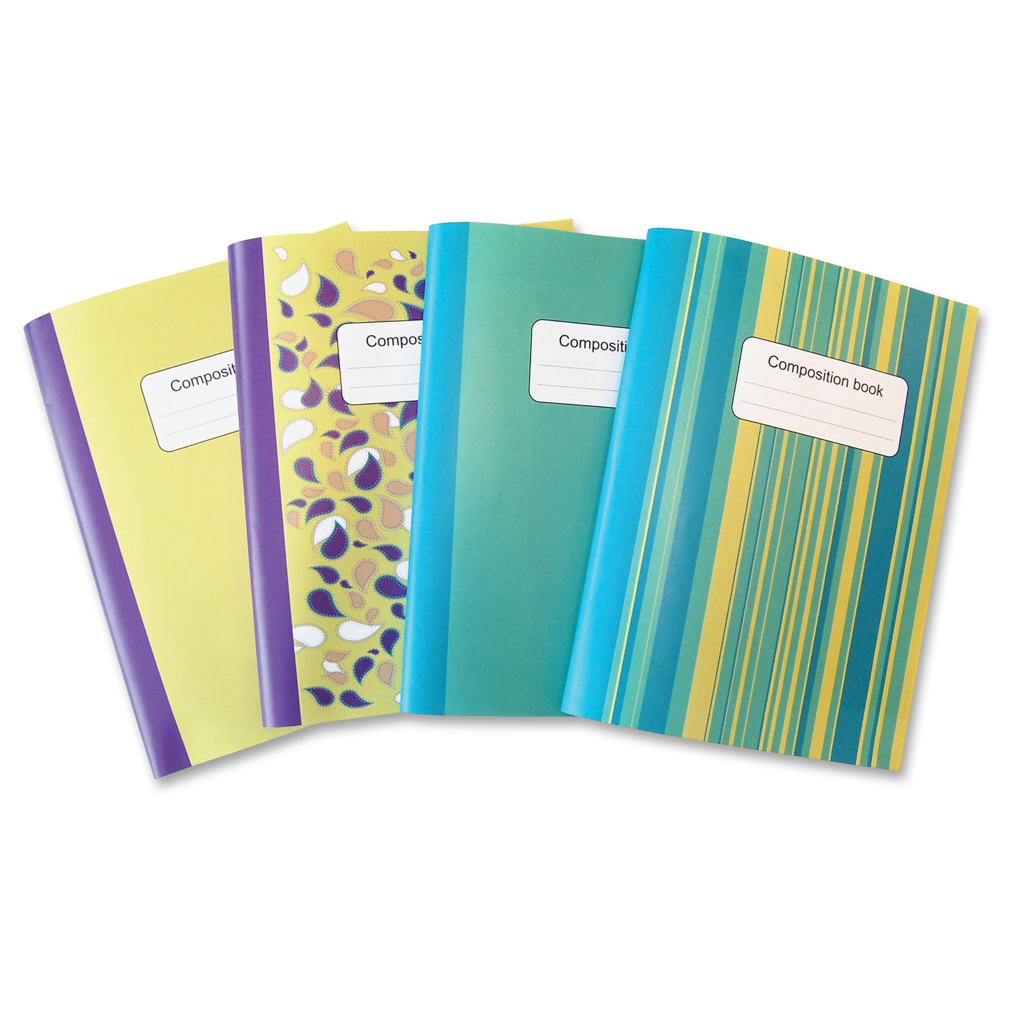 Sparco Composition Books - College Ruled - 4 / Pack (spr-36125)