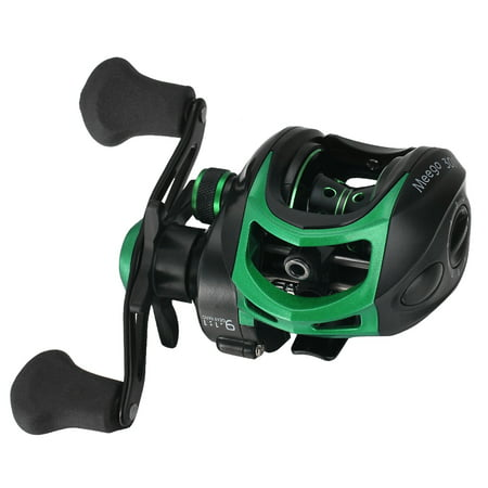Lightweight High Speed 9.1:1 Gear Ratio Baitcast Fishing Reel 19+1 Ball Bearings Baitcasting Fishing Reel Baitcaster Tackle