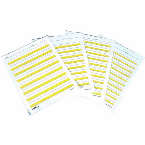 Abilitations Hi-Write Beginner 1 Paper, Pack of 100, Grade 1