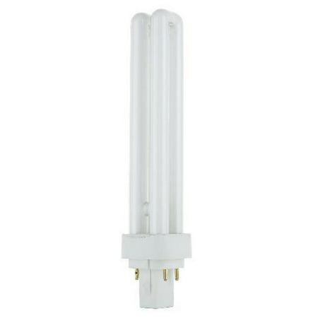 SUNLITE Compact Fluorescent G24Q-3 4 Pin 26W 3000k Bulb