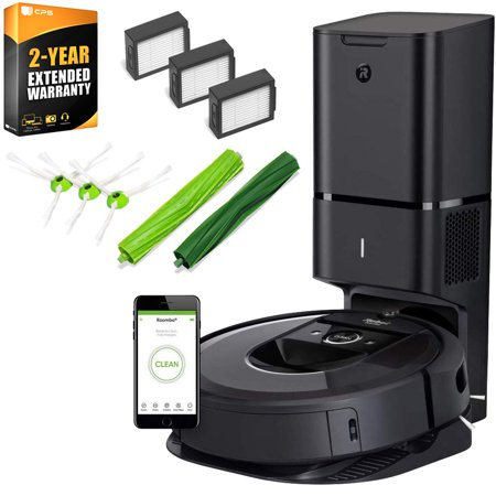 Irobot Roomba I7 7550 Robot Vacuum Wi Fi With Deco Gear