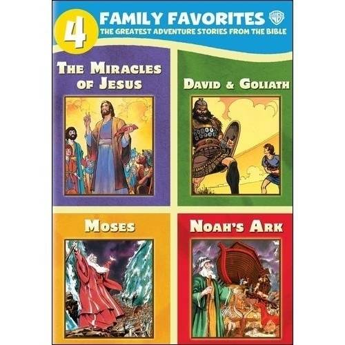 4 Family Favorites: The Greatest Adventure Stories From The Bible (Full Frame)