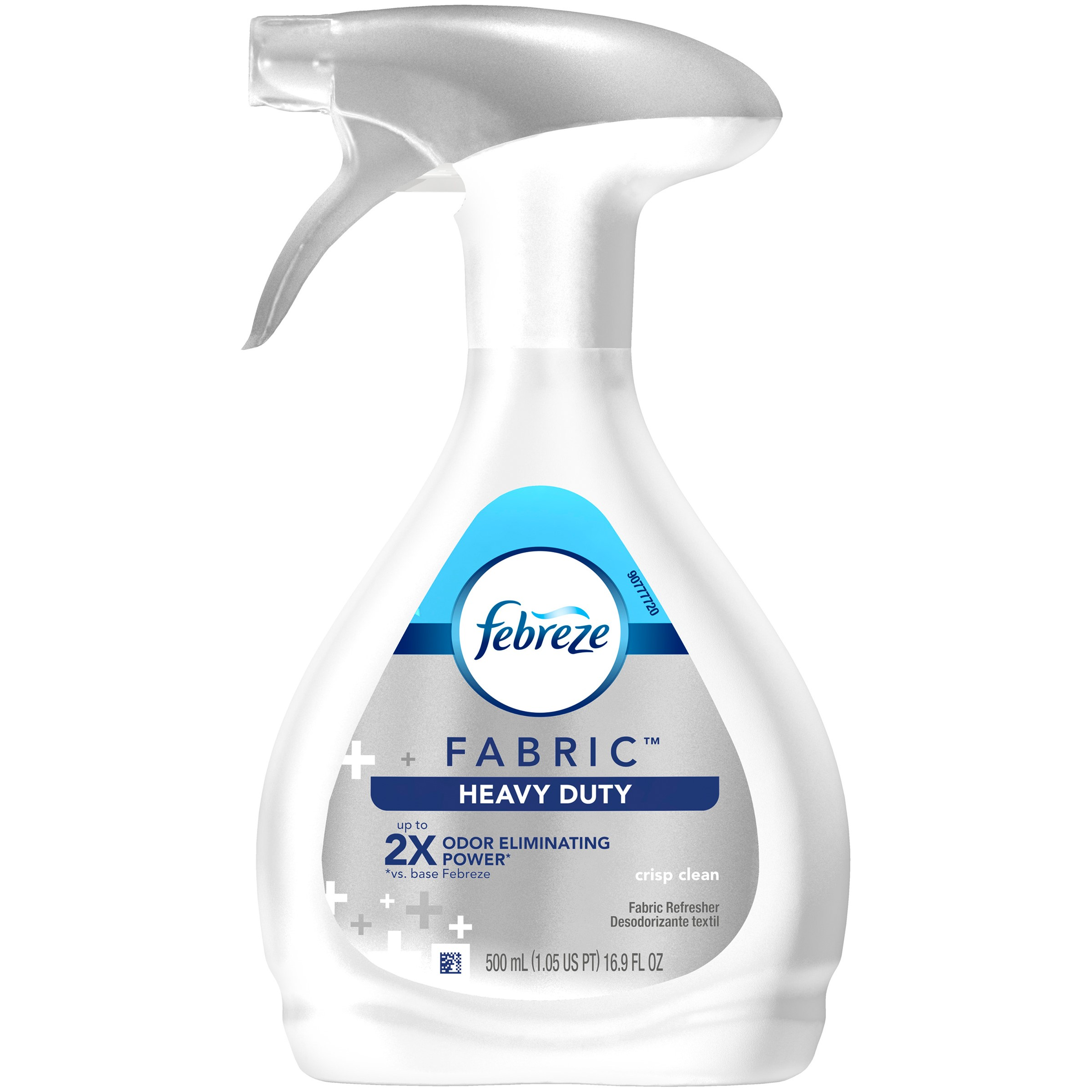 Febreze Heavy Duty FABRIC Refresher, Crisp Clean, 1 Count 16.9 oz