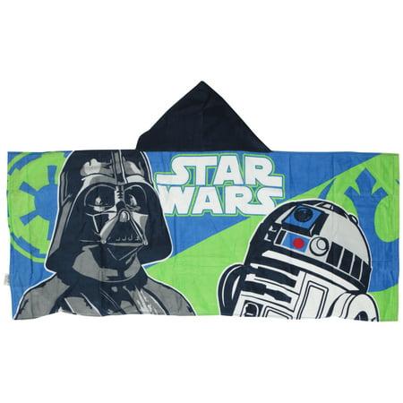 Disney Star Wars Classic Hooded Towel