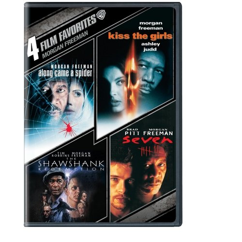 4 Film Favorites: Morgan Freeman - Along Came A Spider / Kiss The Girls / Seven / The Shawshank Redemption (Widescreen)