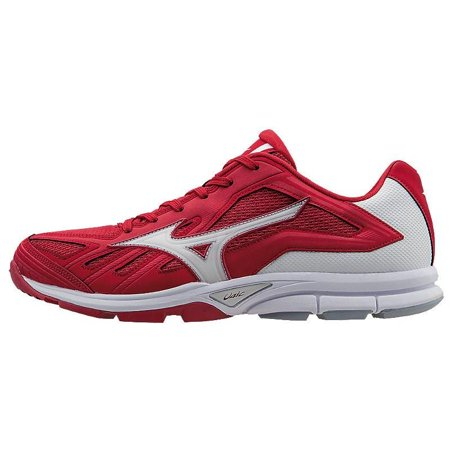 Mizuno Players Trainer - Low - Red/White 7.5
