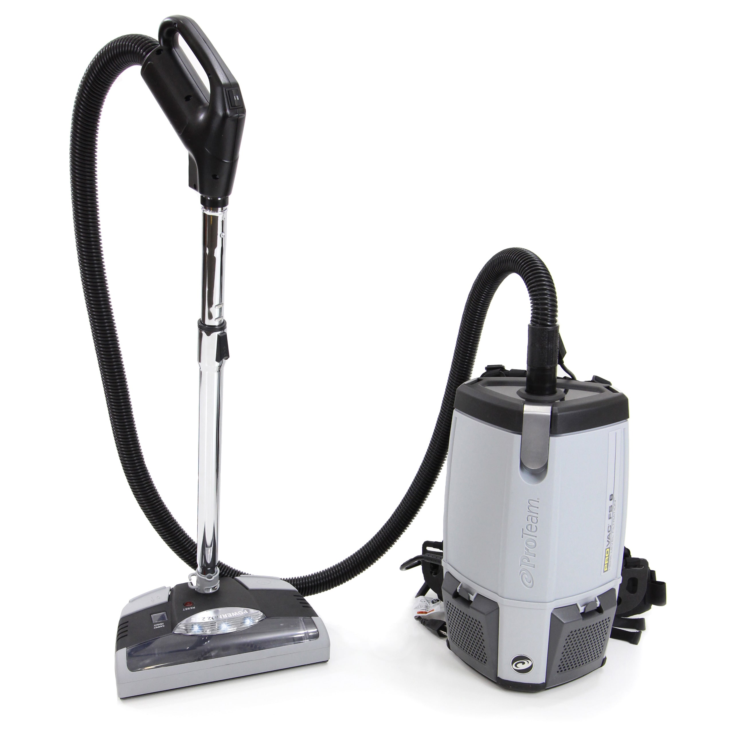 ProTeam ProVac With power head Backpack 6-quart Vacuum Cleaner FS6