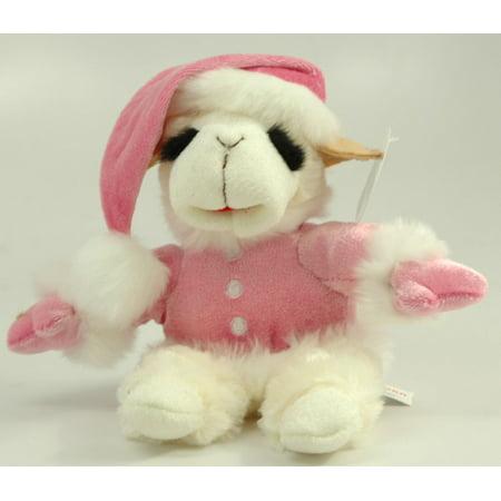 Aurora Plush 8 Pink Lamb Chop Holiday Stuffed Animal Walmart Com