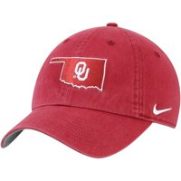 Oklahoma Sooners Nike Washed Heritage 86 Adjustable Hat - Crimson - OSFA