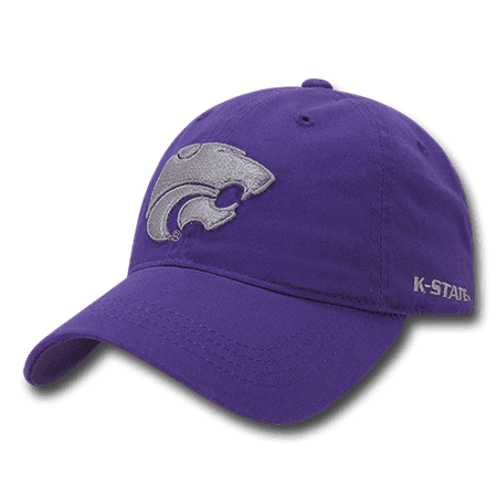 ncaa kansas state wildcats 6 panel relaxed
