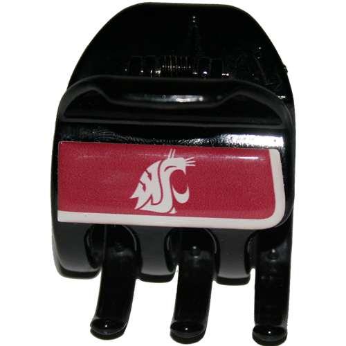Washington State Cougars Hair Jaw Clip