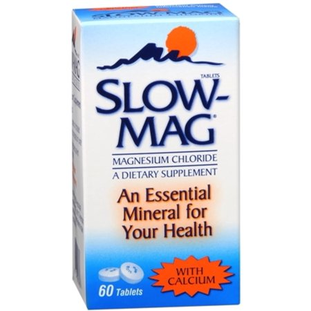 3 Pack - Slow-Mag Tablets With Calcium 60 Tablets