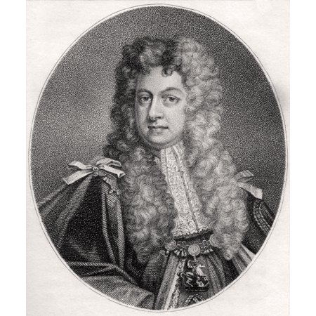 John Sheffield 1St Duke Of Buckingham And Normandy 1648  1721 English Statesman And Poet Engraved By Paftarini From The Book A Catalogue Of Royal And Noble Authors Volume Iv Published 1806 Posterprint