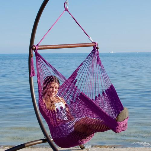 KW Hammocks Caribbean Polyester Chair Hammock