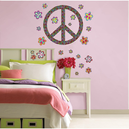 WallPops Peace Wall Art Decals