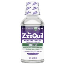 Cold & Flu: ZzzQuil Liquid Alcohol Free