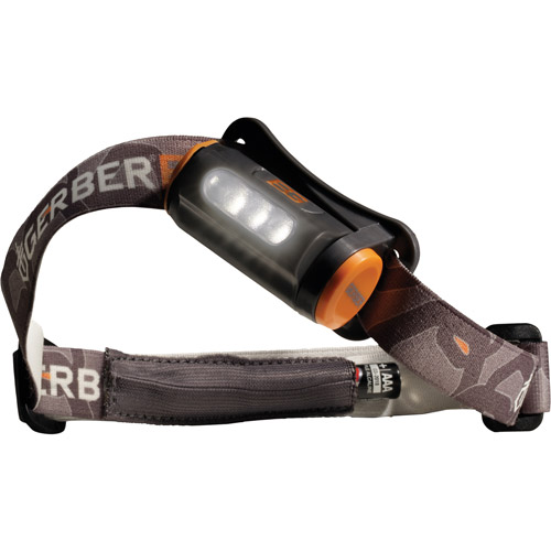 Gerber Survival / Bear Grylls Hands-Free Torch with Battery Storage