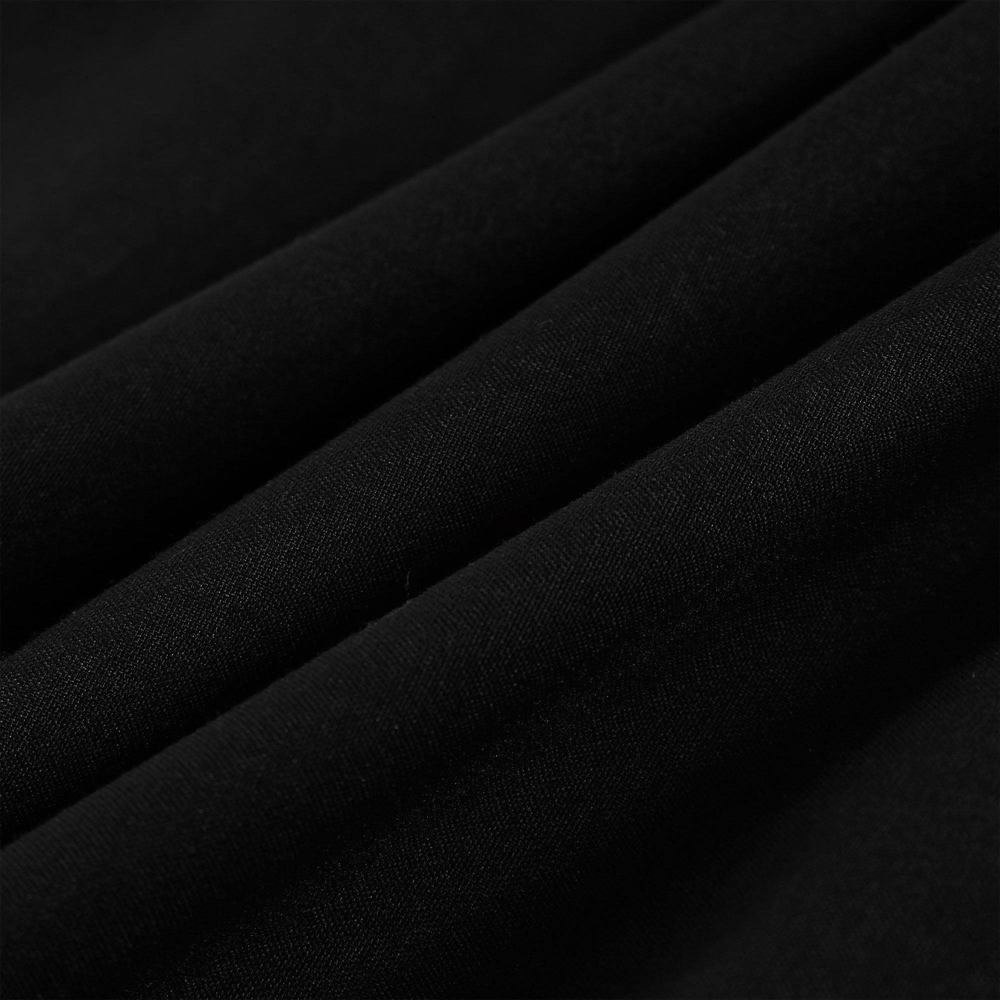 """Body Pillow Case Microfiber Long Bedding Covers for Body Pillows Black 20""""x60"""" - image 6 de 7"""