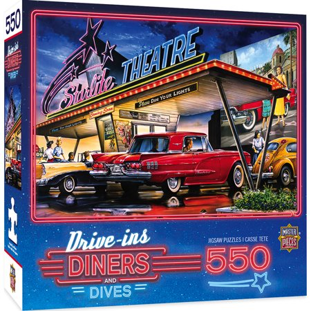 MasterPieces Drive-Ins, Diners & Dives - Starlite Drive-In 550 Piece