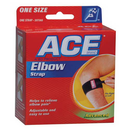 Ace Advanced Elbow Strap To Relieve Elbow Pain, Model No : 7360 - 1Ea