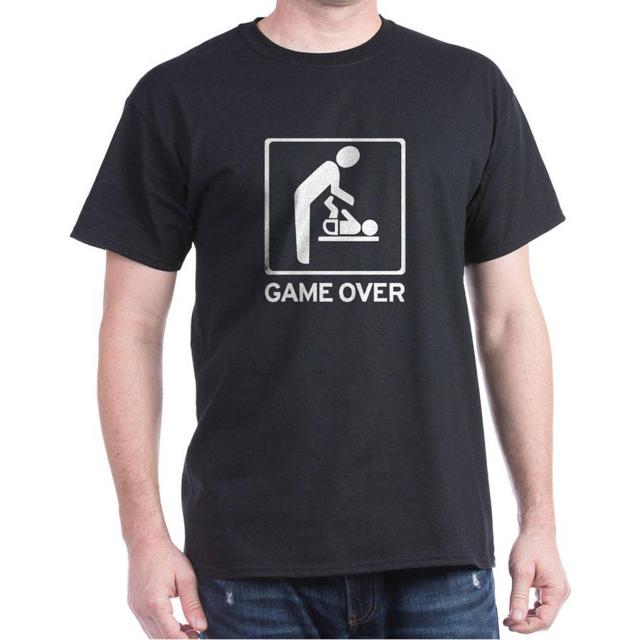 CafePress Big Men's Dad Game Over T-Shirt