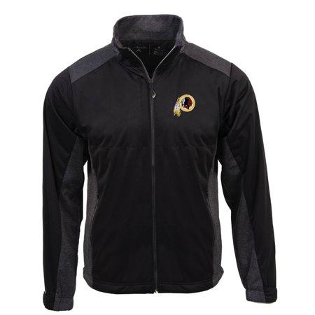 promo code 8f6a2 78ec9 Washington Redskins Antigua Revolve Full-Zip Jacket - Black